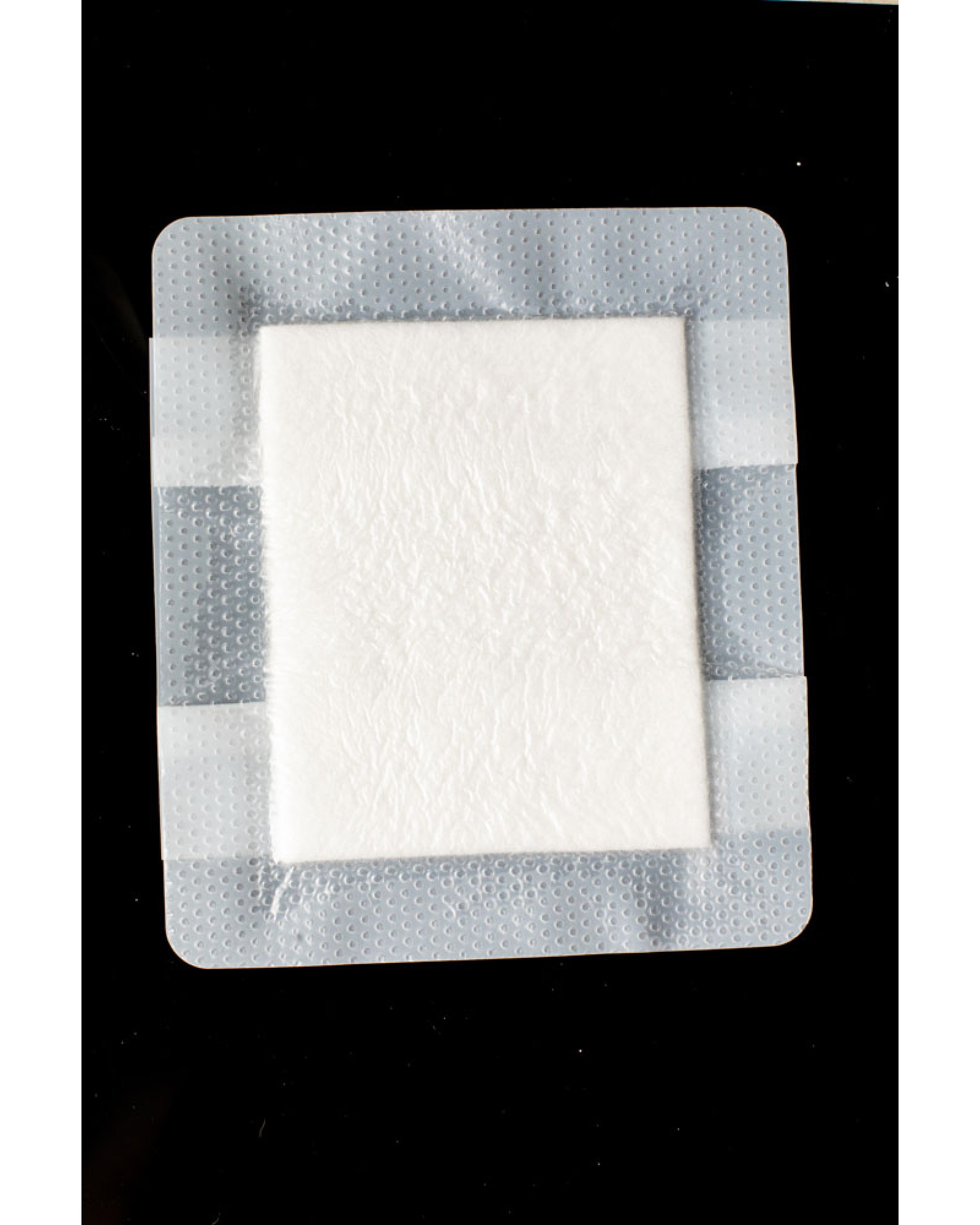 Bordered Silicone Absorbent Dressing