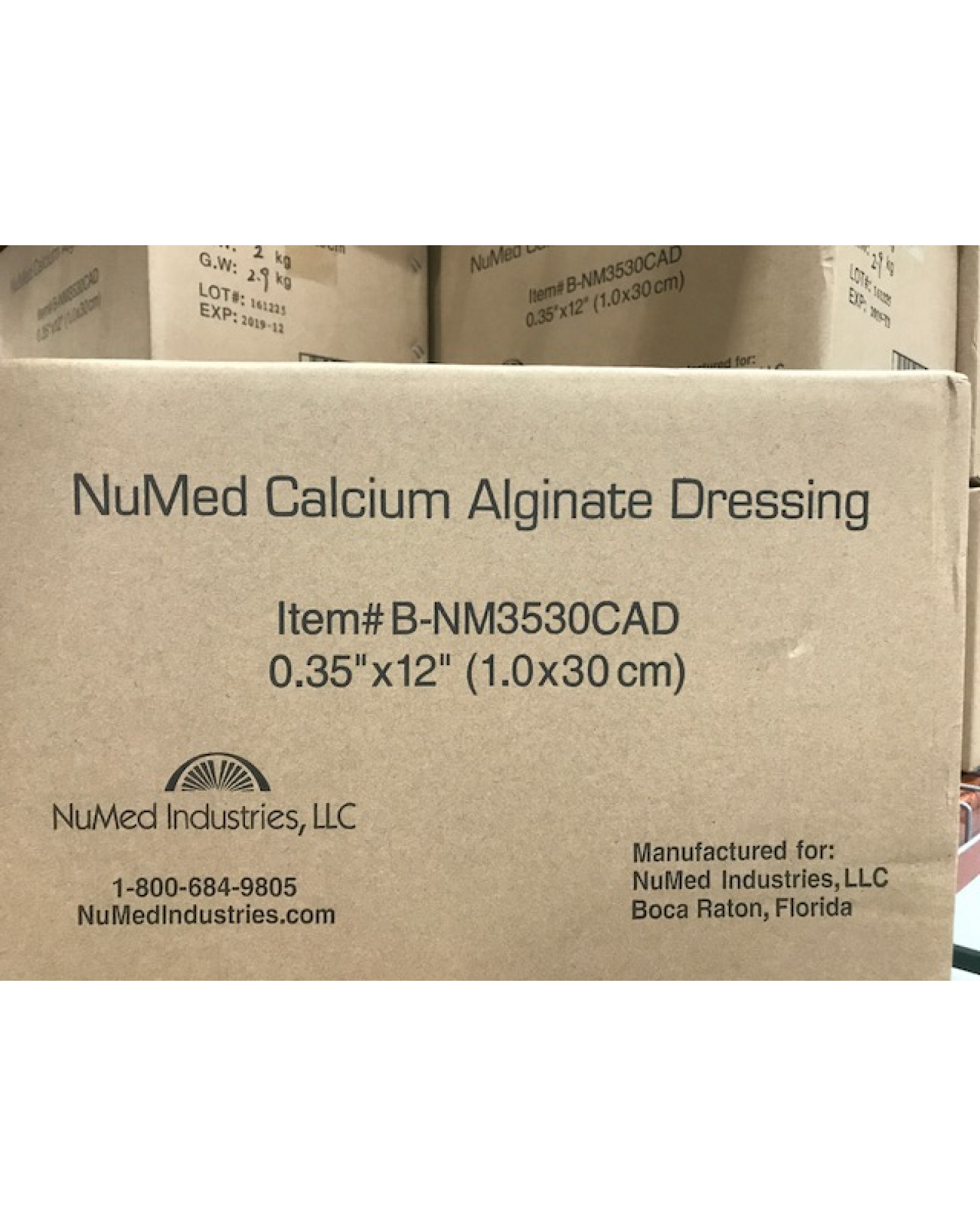 NuMed Calcium Alginate-Bulk Packaged