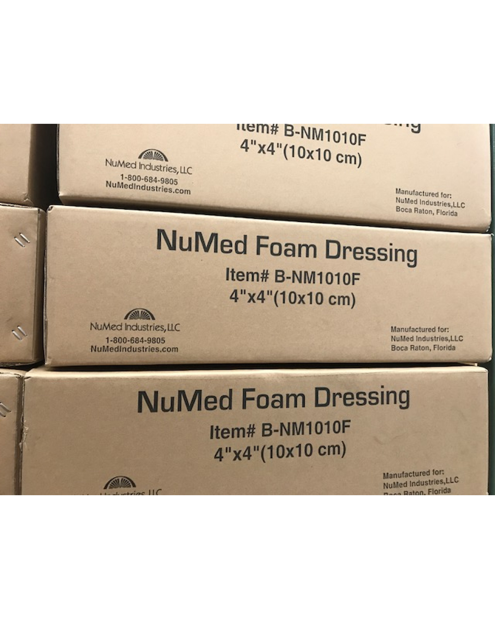 NuMed Foam Dressing-Bulk Packaged