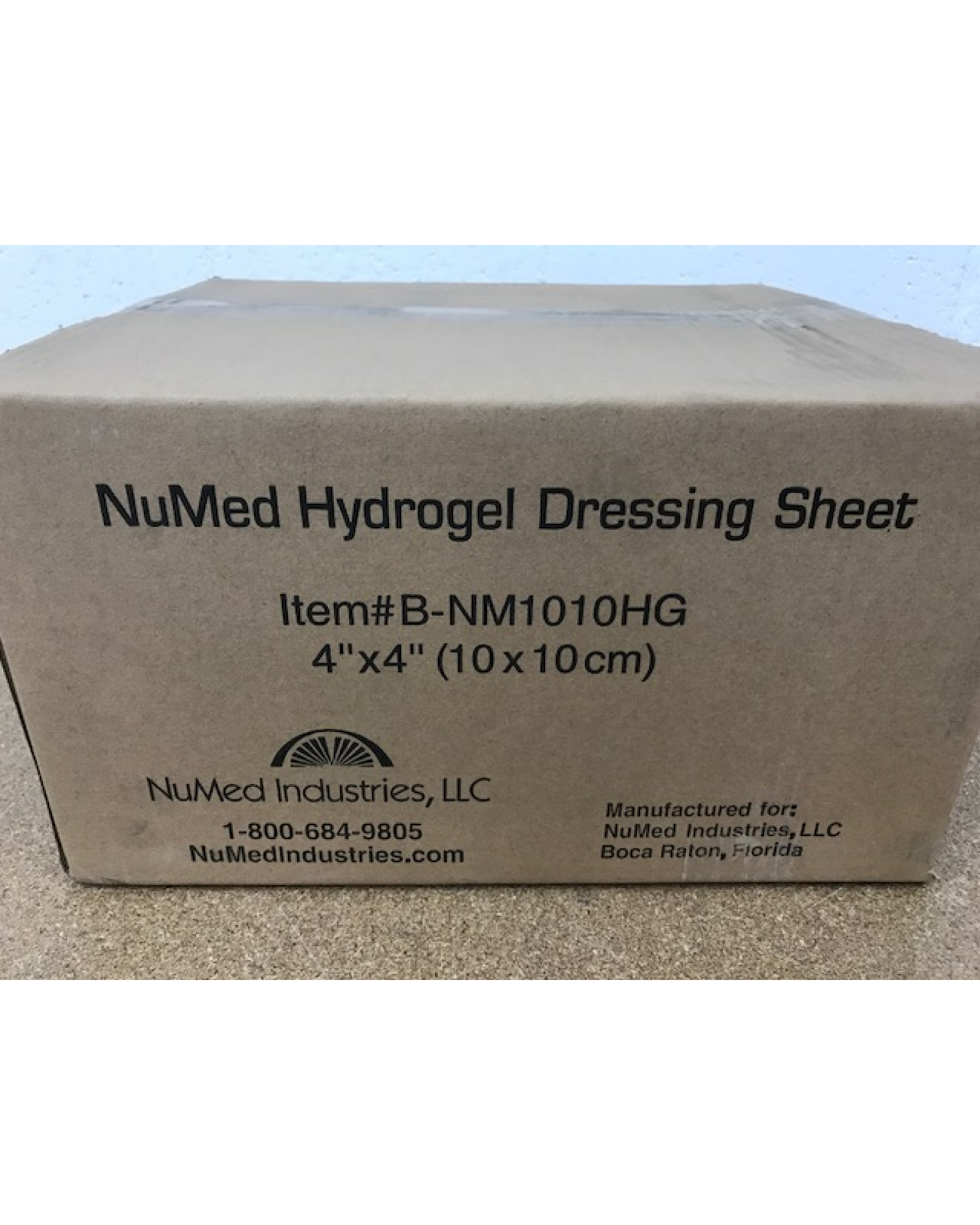 NuMed Hydrogel Dressing-Bulk Packaged