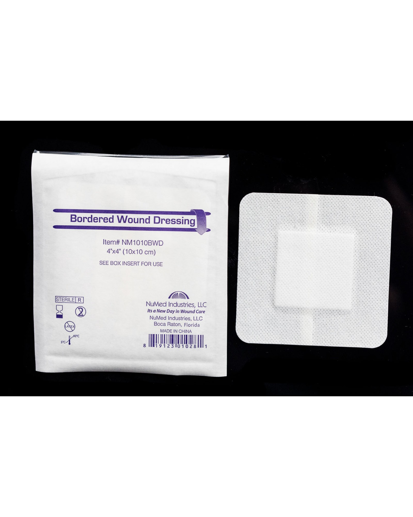 NuMed Bordered Wound Dressing