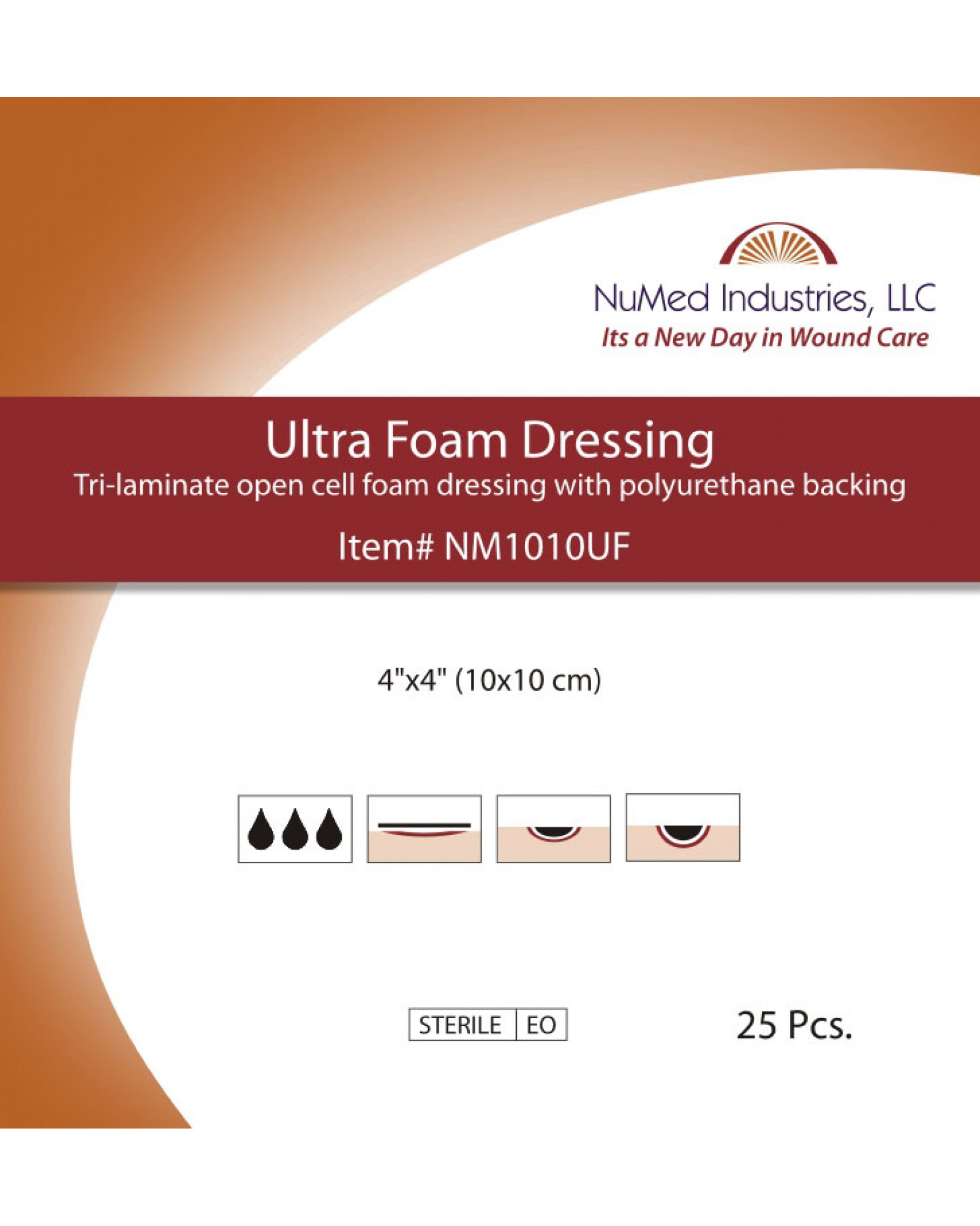 NuMed Ultra Foam Dressing